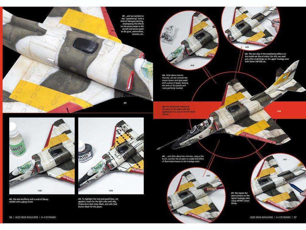 Aces High Monographic Series : Skyhawk (Vista 3)