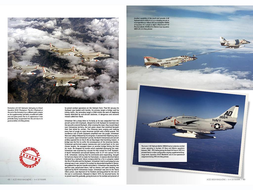 Aces High Monographic Series : Skyhawk (Vista 4)