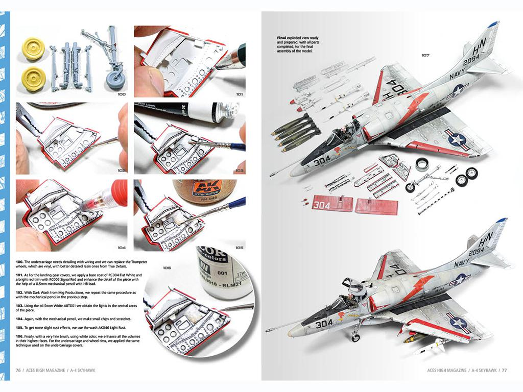 Aces High Monographic Series : Skyhawk (Vista 5)