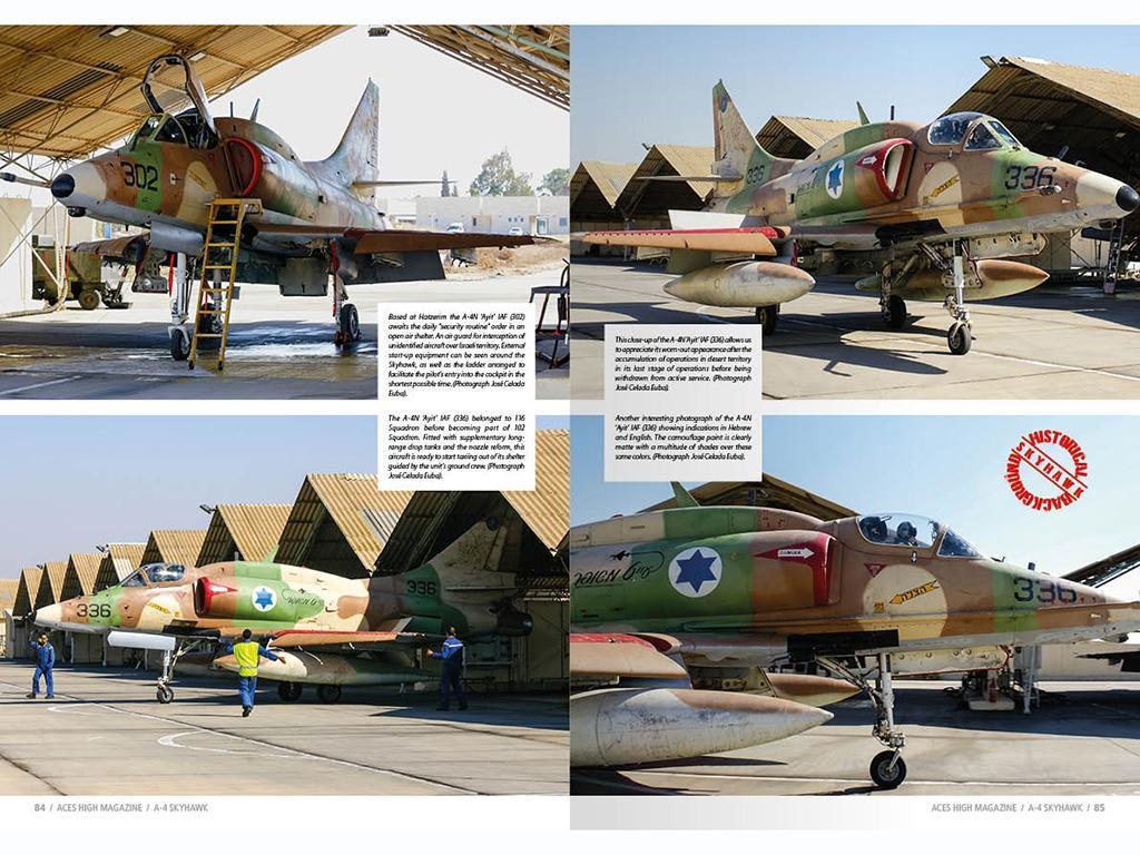 Aces High Monographic Series : Skyhawk (Vista 6)