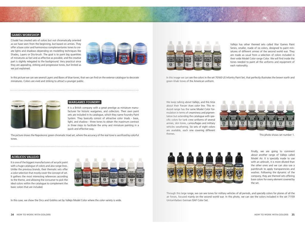 Como Trabajar con Colores y Transiciones con Acrilicos (Vista 10)