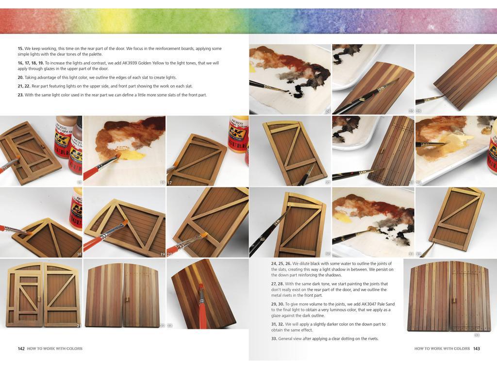 Como Trabajar con Colores y Transiciones con Acrilicos (Vista 3)