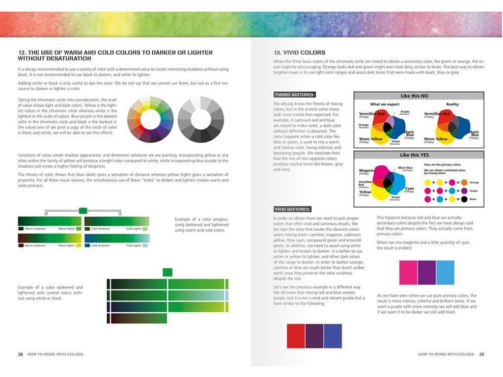 Como Trabajar con Colores y Transiciones con Acrilicos (Vista 4)