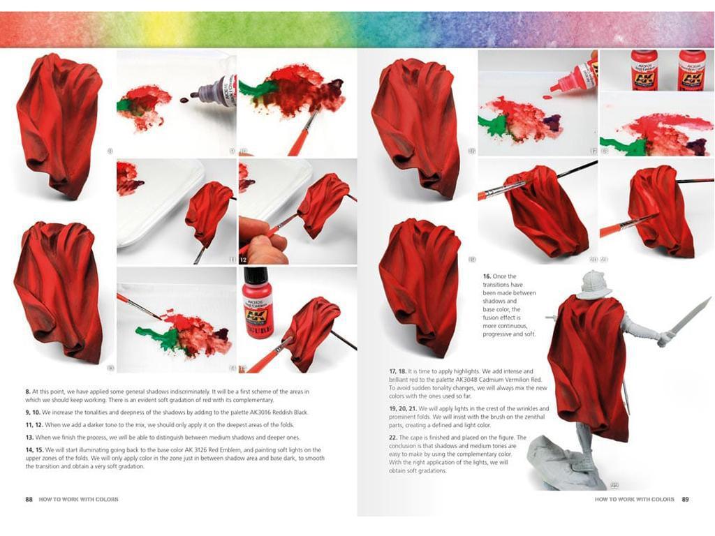 Como Trabajar con Colores y Transiciones con Acrilicos (Vista 6)