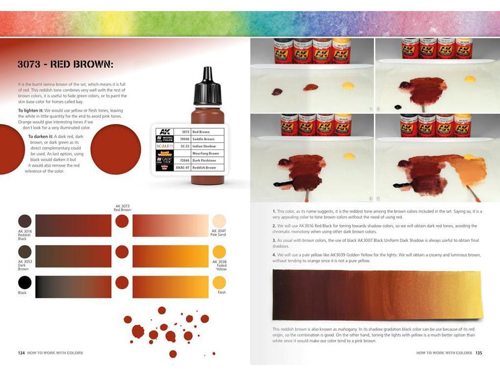 Como Trabajar con Colores y Transiciones con Acrilicos (Vista 7)