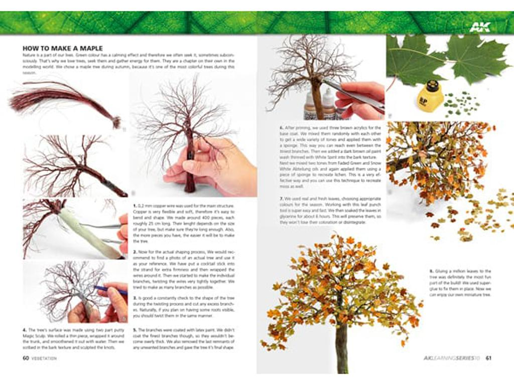 Dominando la Vegetacion en Modelismo (Vista 8)