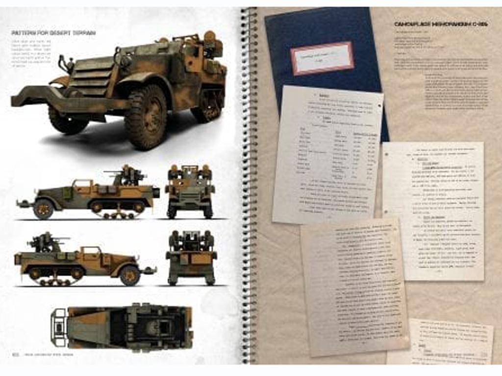Colores reales vehiculos de la WWII Mundial (Vista 2)