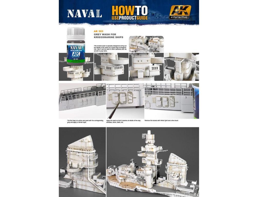 Lavado Gris Para Barcos de la Kriegsmari (Vista 2)