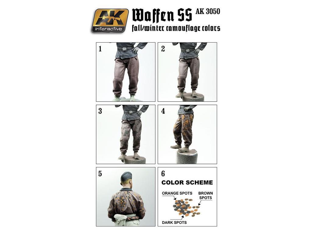Uniformes otoño/invierno Waffen SS  (Vista 2)