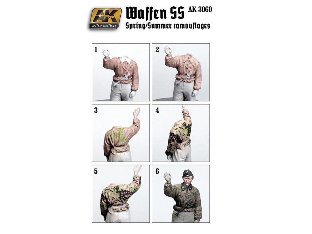 Uniformes Camuflaje Waffen SS primavera/verano (Vista 2)