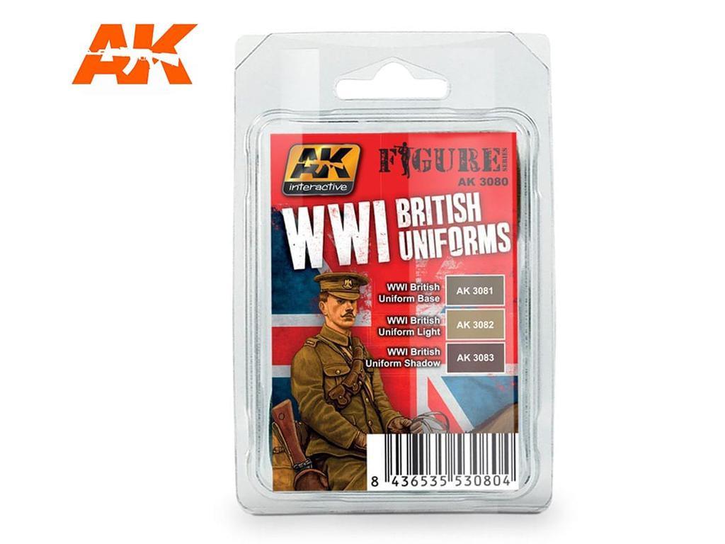 Uniformes Britanicos WWI (Vista 1)
