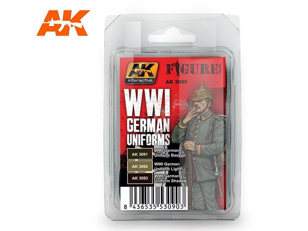 Uniformes Alemanes WWI (Vista 1)
