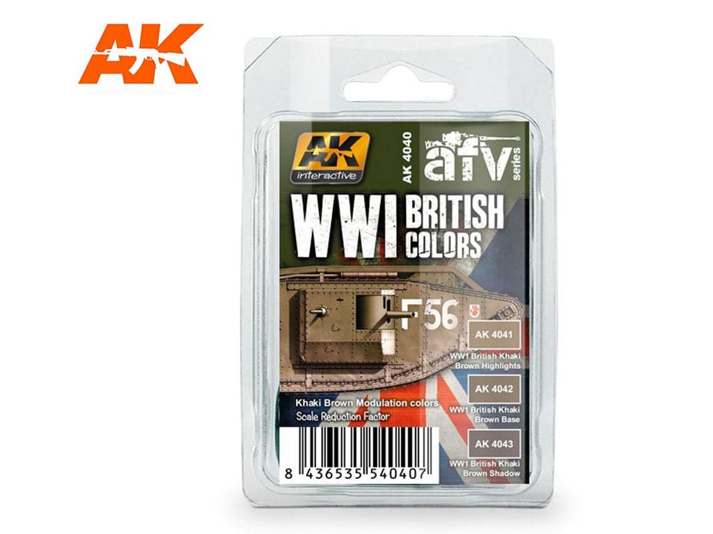 Colores Britanicos WWI (Vista 1)