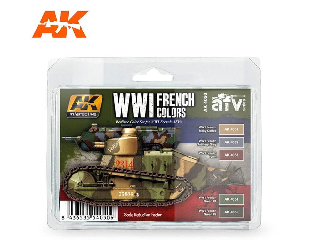 Colores Franceses WWI (Vista 1)