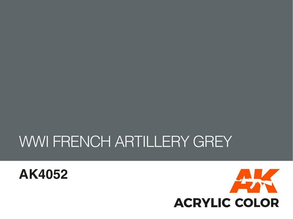 Gris Artillería Francesa  (Vista 2)