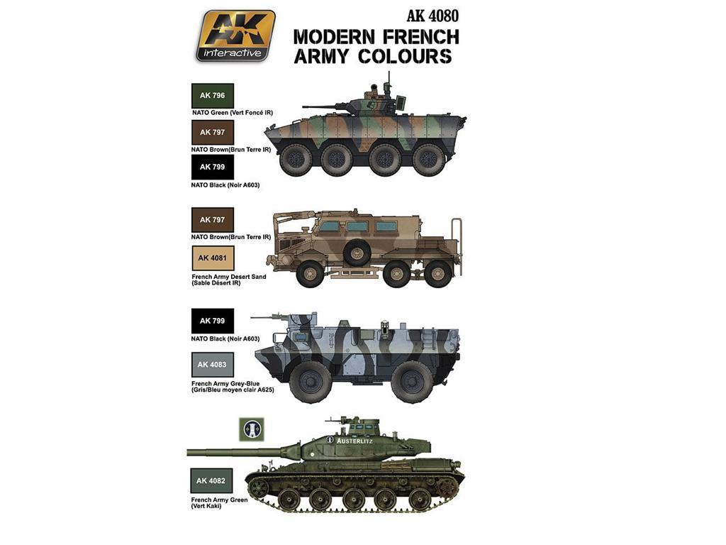 Colores Franceses Modernos (Vista 2)
