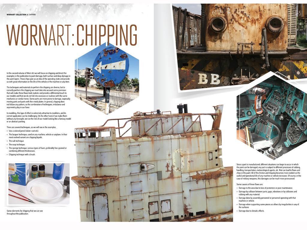 Worn Art Collection 02 – Chipping (Vista 3)