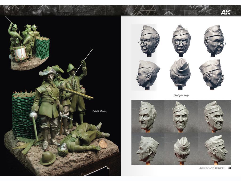 Técnicas de escultura y conversión de figuras (Vista 2)