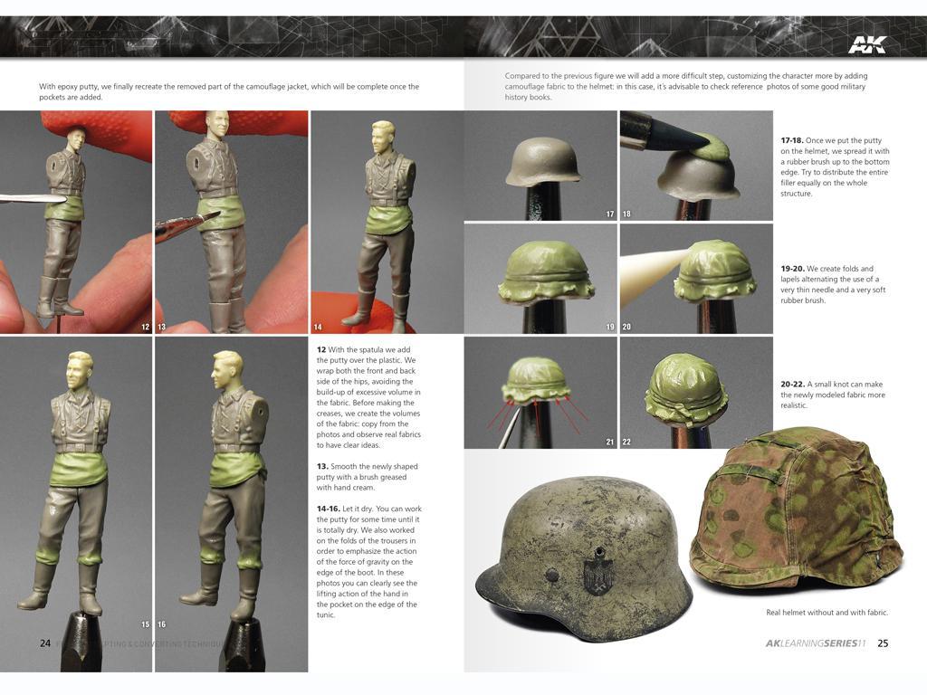 Técnicas de escultura y conversión de figuras (Vista 4)
