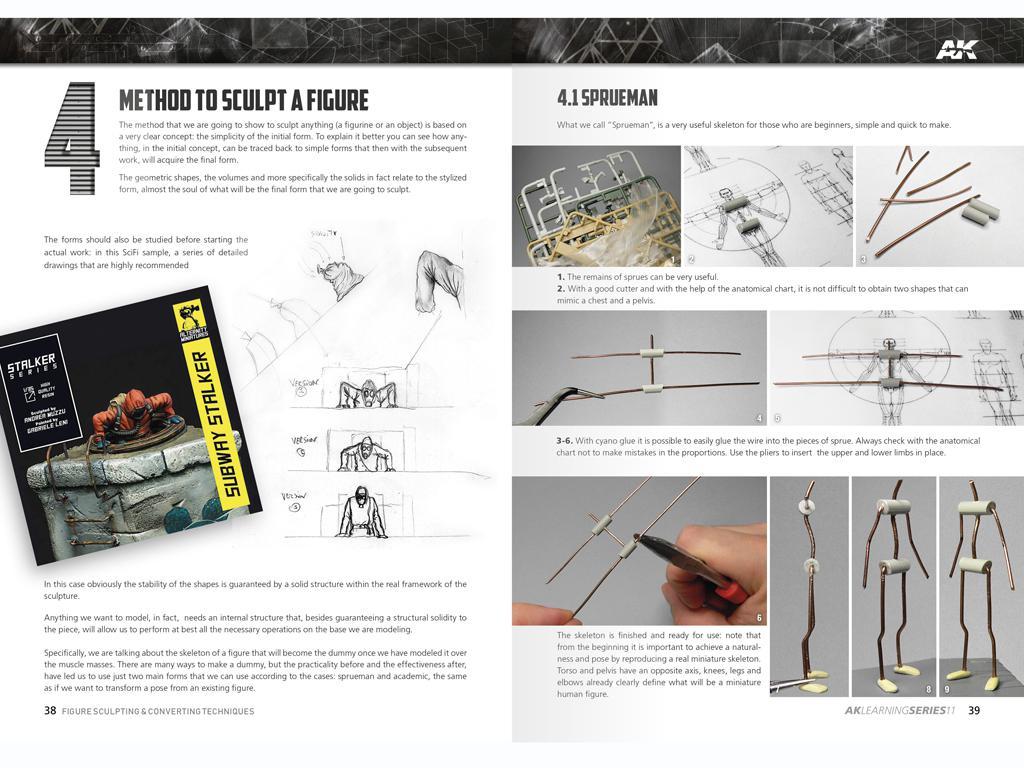 Técnicas de escultura y conversión de figuras (Vista 5)