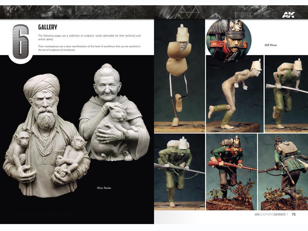 Técnicas de escultura y conversión de figuras (Vista 7)