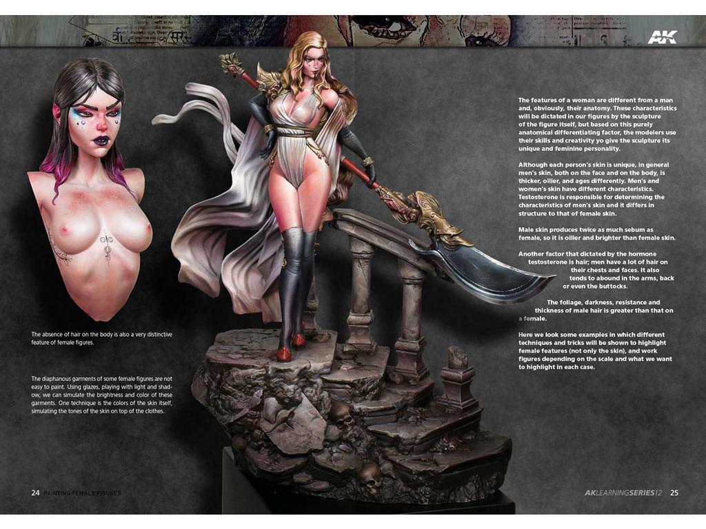 Pintura de la Figura Femenina (Vista 5)
