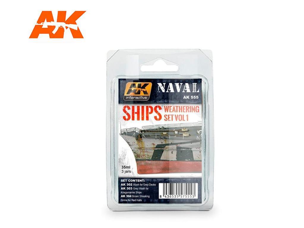 Naval Weathering Set Vol.1 (Vista 1)