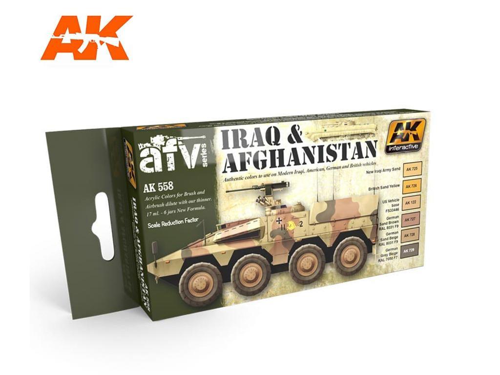 Set Acrilicos Iraq-Afganistan (Vista 1)