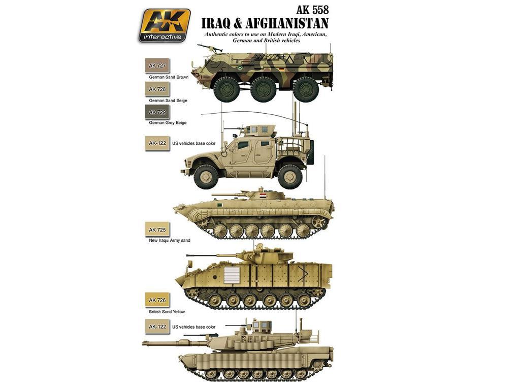 Set Acrilicos Iraq-Afganistan (Vista 2)