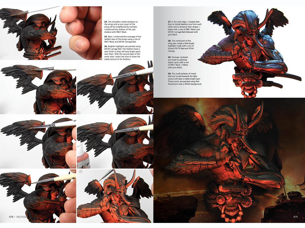 F.A.Q. Tecnicas Pintura Figuras (Vista 2)