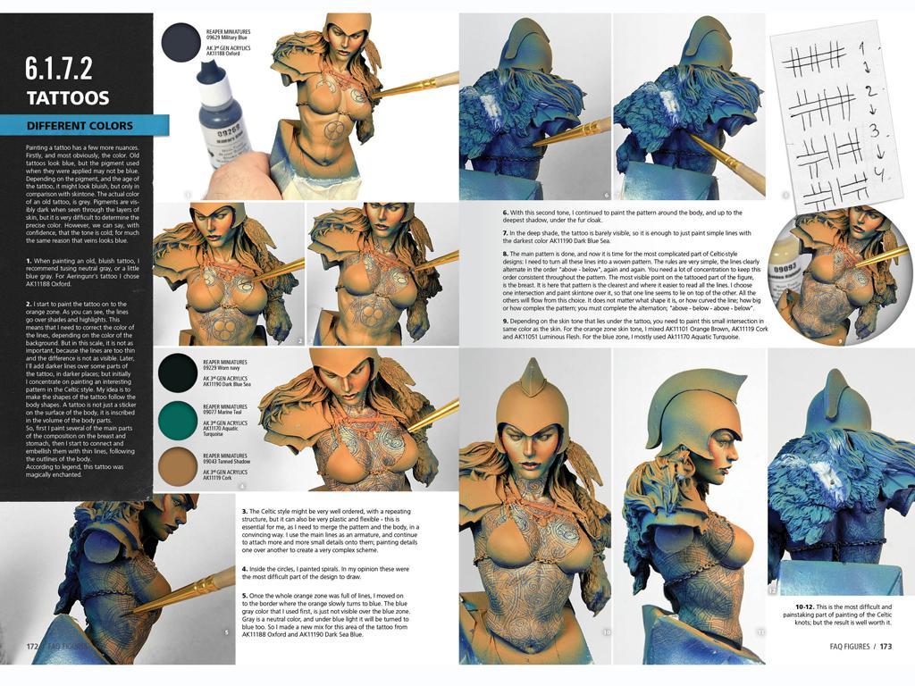F.A.Q. Tecnicas Pintura Figuras (Vista 5)