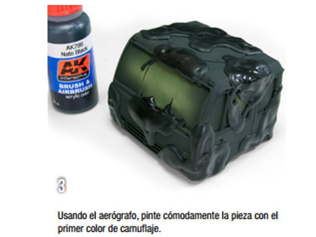 Masilla elástica de camuflaje (Vista 6)