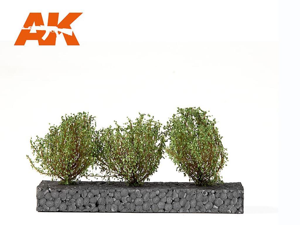 Arbustos Verde Oscuro 4/5 cm (Vista 1)