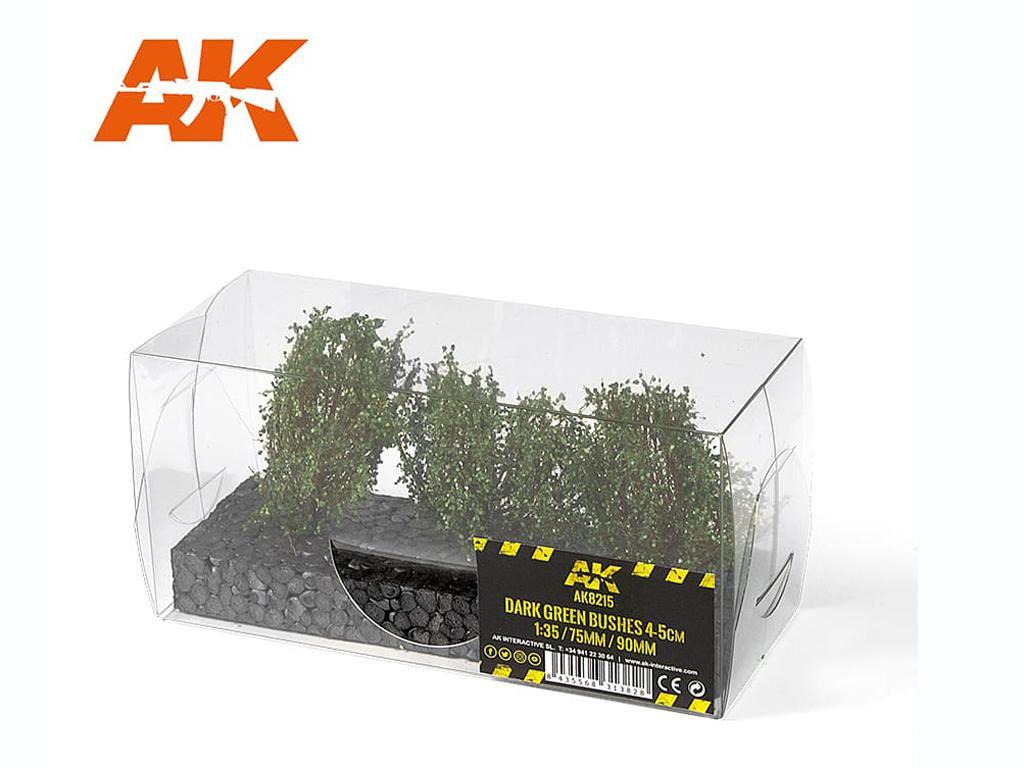 Arbustos Verde Oscuro 4/5 cm (Vista 2)