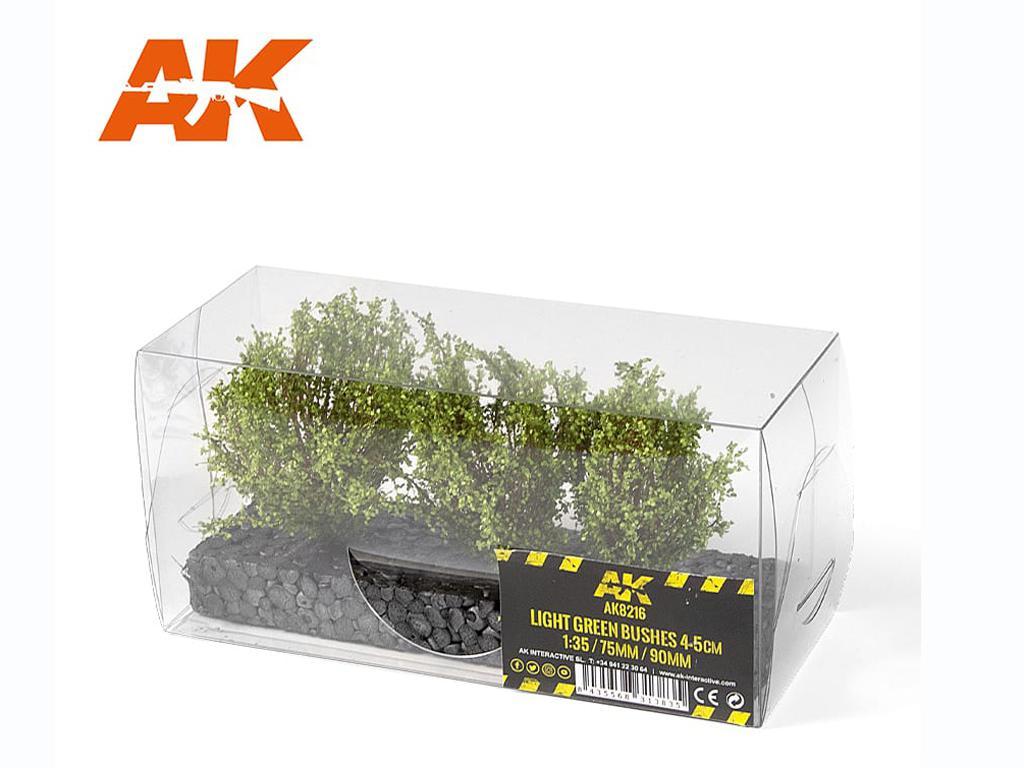 Arbusto Verde Claro 4/5 cm (Vista 2)