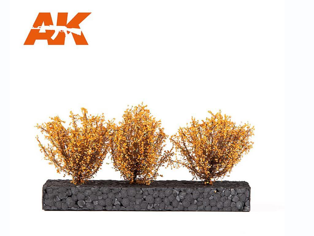 Arbusto amarillo Oscuro 4/5 cm (Vista 1)