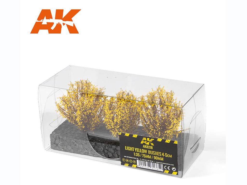 Arbusto Amarillo Claro 4/5 cm (Vista 2)
