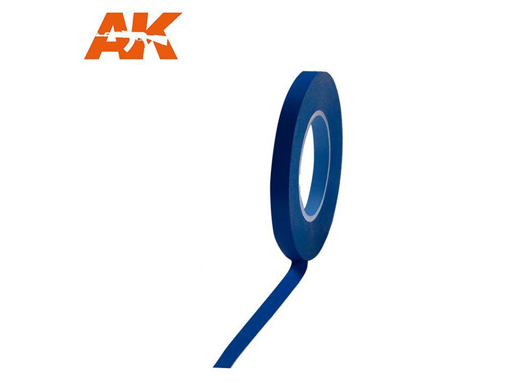 Cinta enmascarar Azul para Curvas 6 mm (Vista 1)