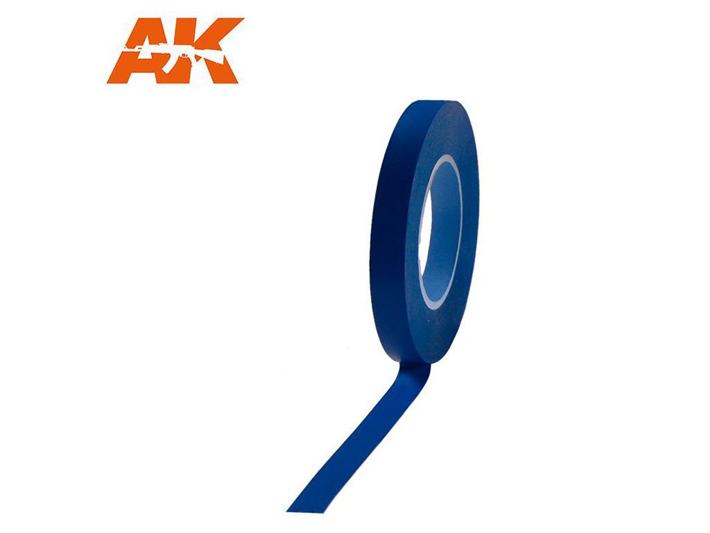 Cinta enmascarar Azul para Curvas 10 mm (Vista 1)