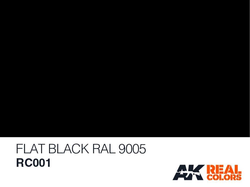Negro Mate RAL 9005 (Vista 2)