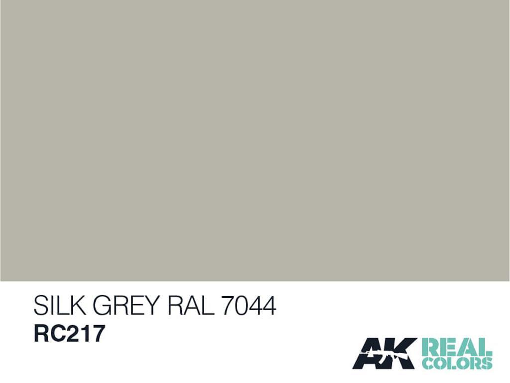 Seidengrau-Seda Gris RAL 7044 (Vista 2)