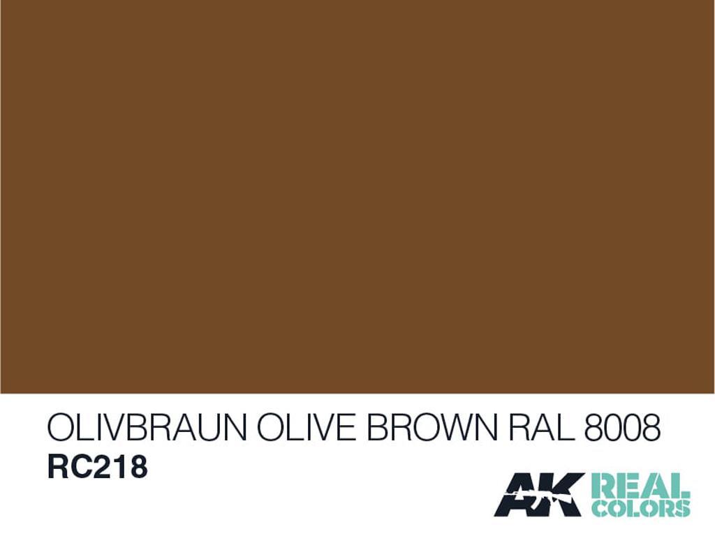 Oliva Braun-Oliva Marron RAL 8008 (Vista 2)
