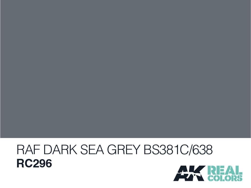RAF Gris Mar Oscuro BS381C/638 (Vista 2)