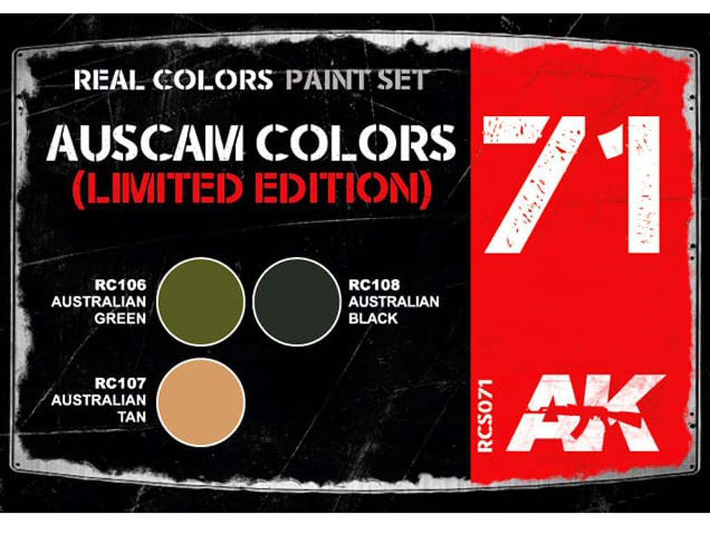 Auscam Colors Set  (Vista 2)