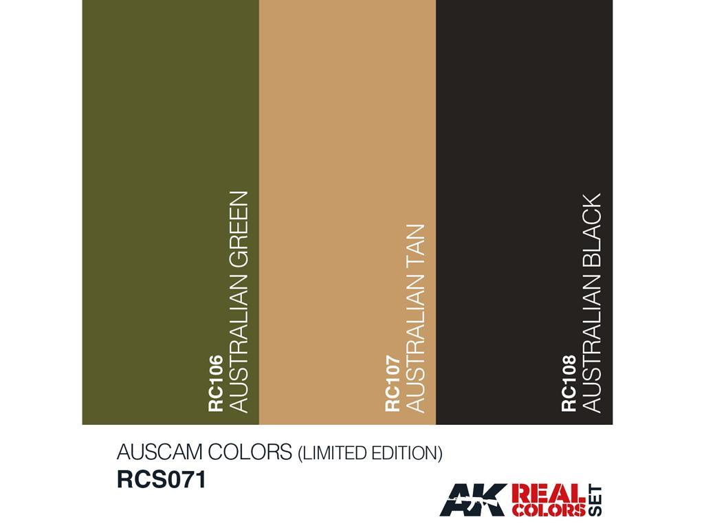 Auscam Colors Set  (Vista 3)