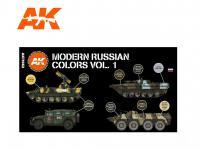 Colores Rusos modernos Vol. 1 (Vista 4)