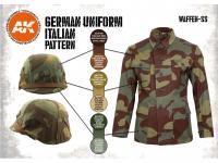 Uniforme Alemán patrón Italiano (Vista 5)
