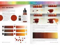 Como Trabajar con Colores y Transiciones con Acrilicos (Vista 17)