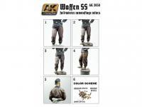 Uniformes otoño/invierno Waffen SS  (Vista 4)