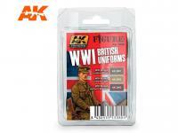 Uniformes Britanicos WWI (Vista 2)